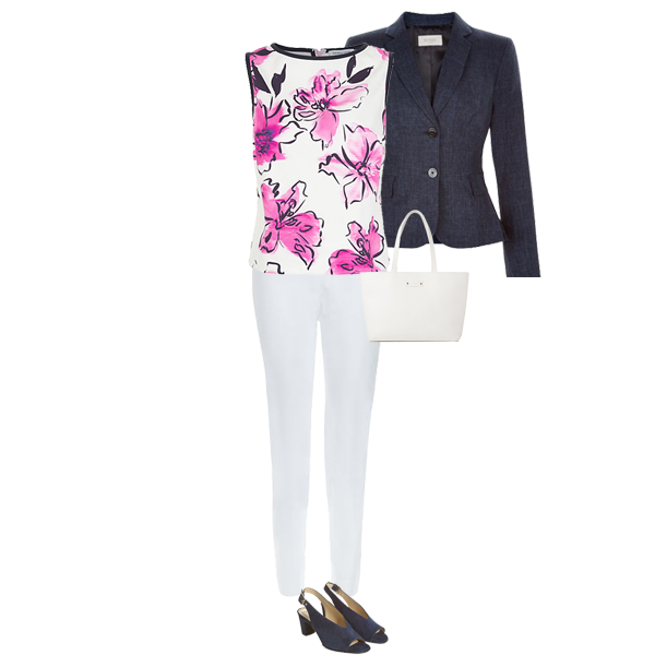 How to wear white trousers, cost per wear from white trousers