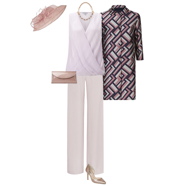 How to wear trousers to a wedding, Mother of the Bride trouser outfit