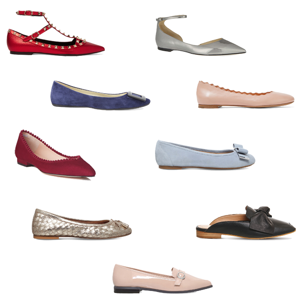 Where to buy, feminine flat shoes