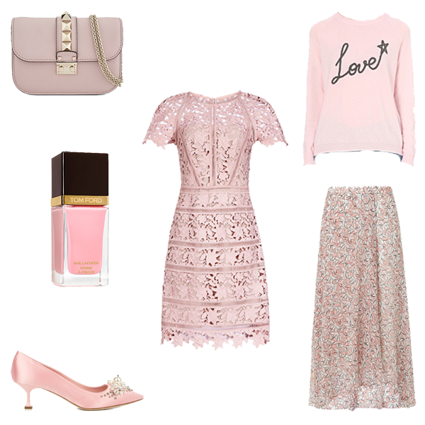 New season trends, pretty pink