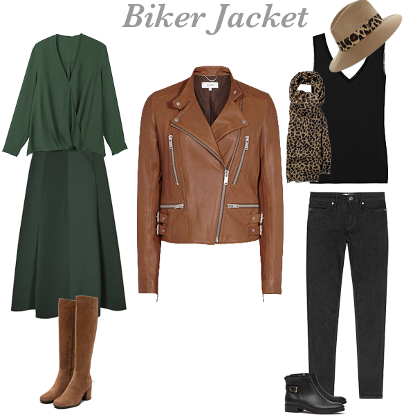 How to wear a biker jacket