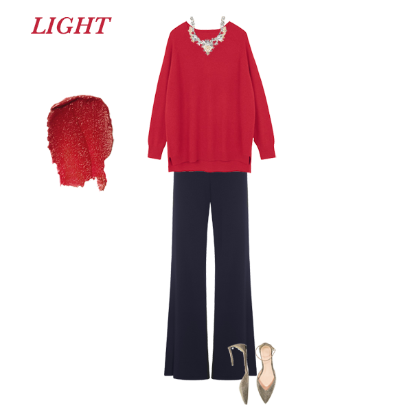 Your best red, how to wear red