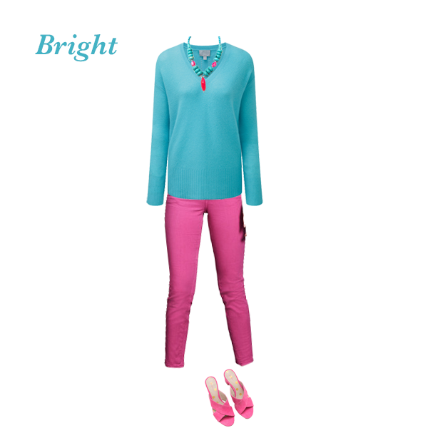 How to wear colour,