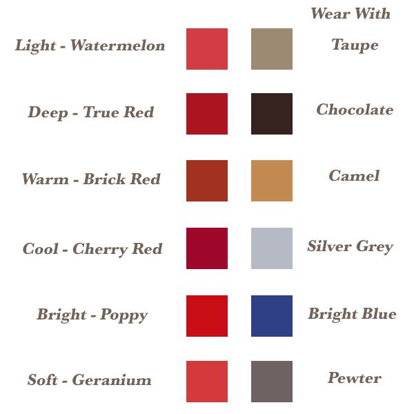Your best red