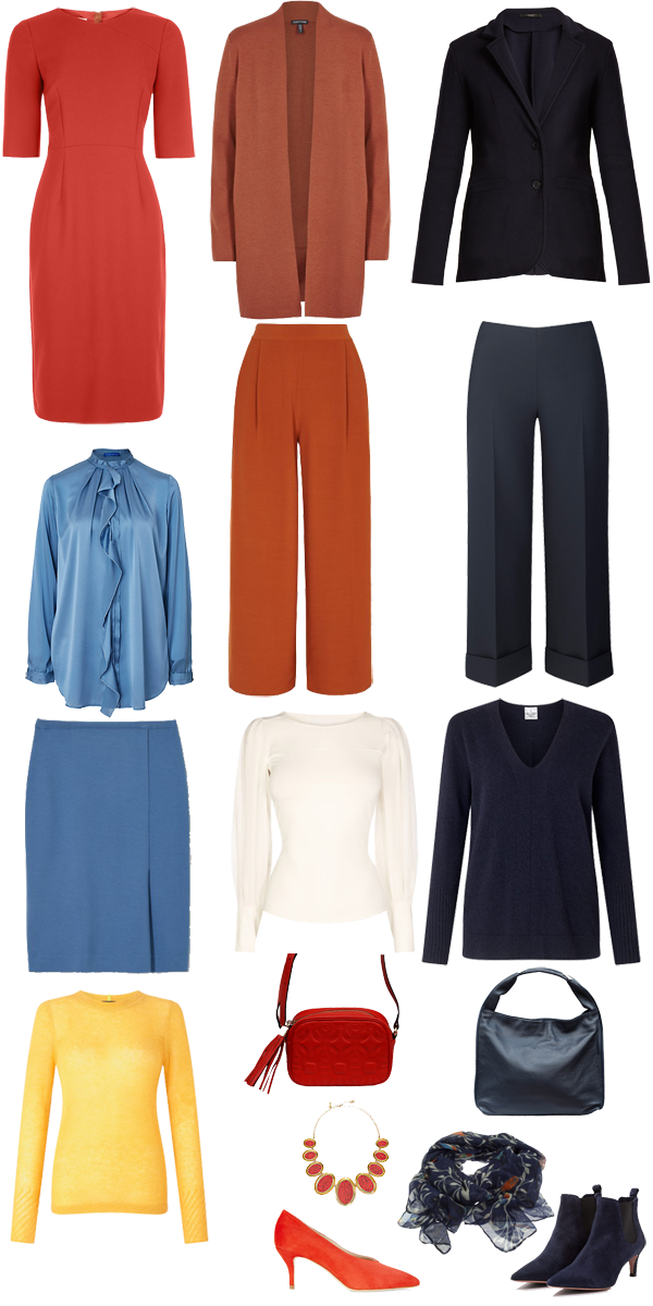 How to create a colour scheme for a capsule wardrobe