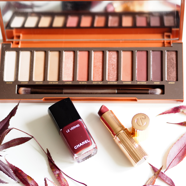 Autumn makeup, Urban Decay, Charlotte Tilbury, Chanel