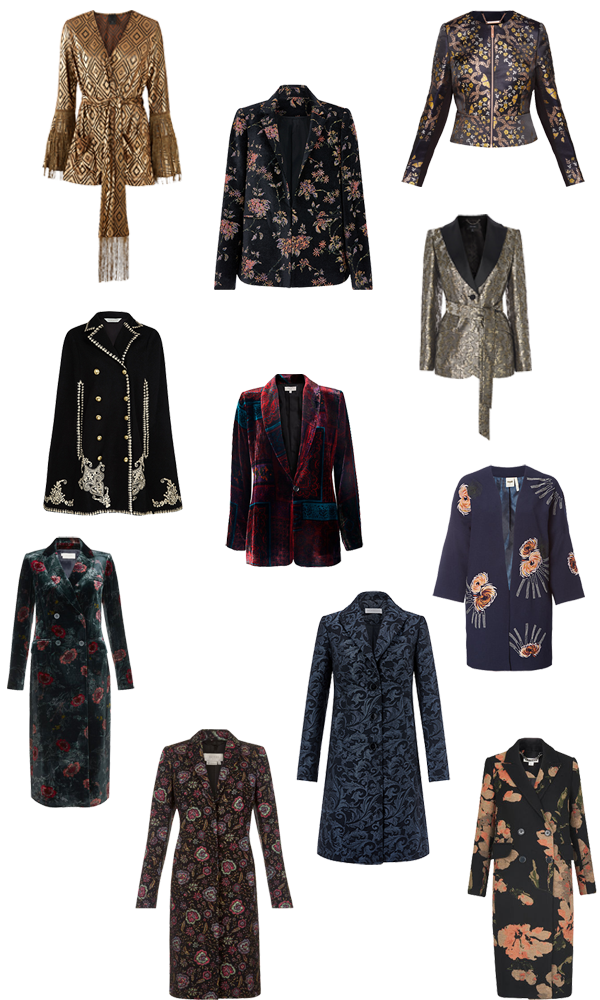 Autumn trend, statement jackets and coats