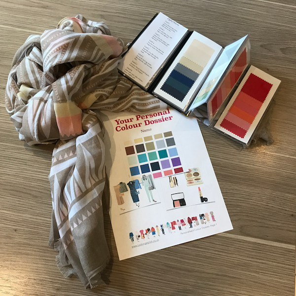 Gift package, Colour Analysis and scarf