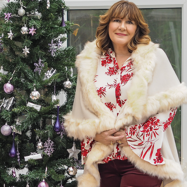 What to wear at Christmas, faux fur