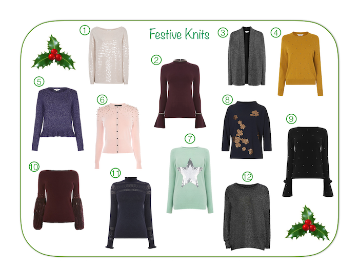 stylish Festive knitwear,