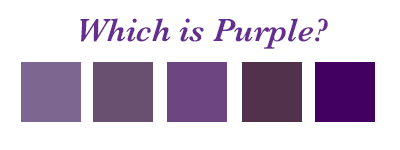 which is your best purple, how to wear purple to suit your colouring