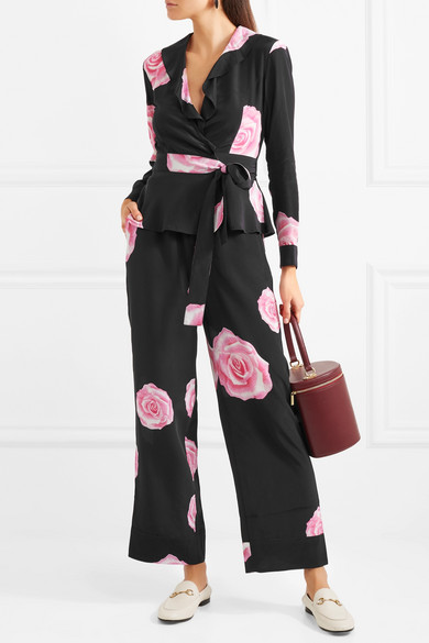 Ganni trousers and top