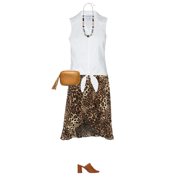 latest skirt trend, leopard print skirt