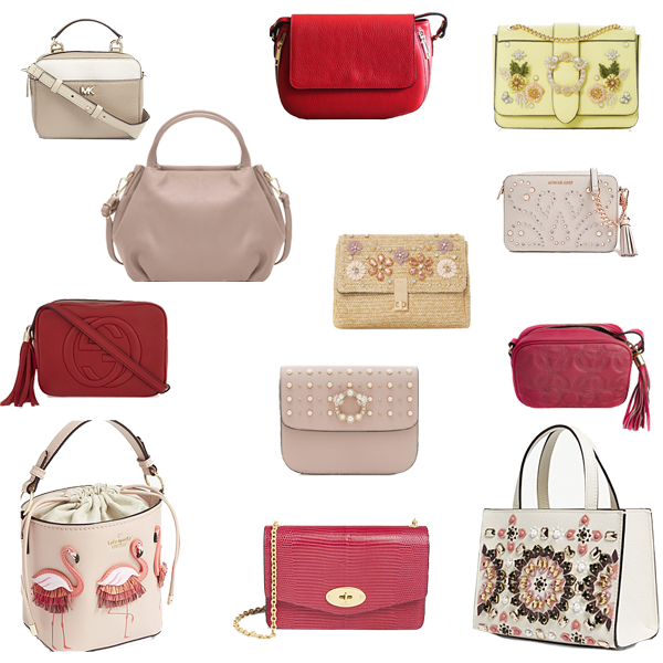 Best bags to pack for a holiday, crossbody, embellished bags