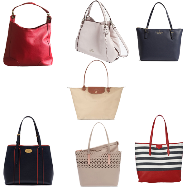 Best bags to pack for a holiday, tote bags, striped, canvas, Mulberry, LK Bennett