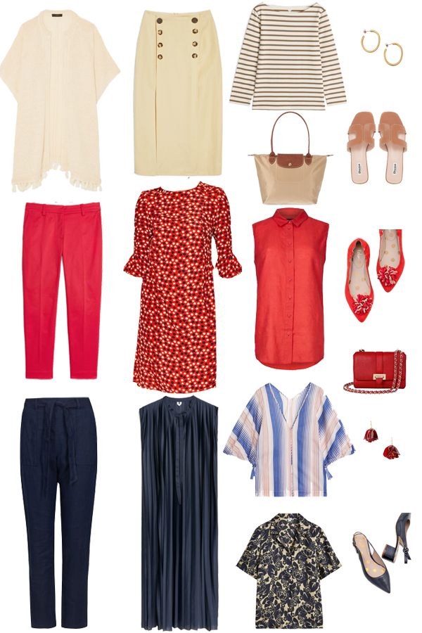 city break holiday capsule wardrobe pieces