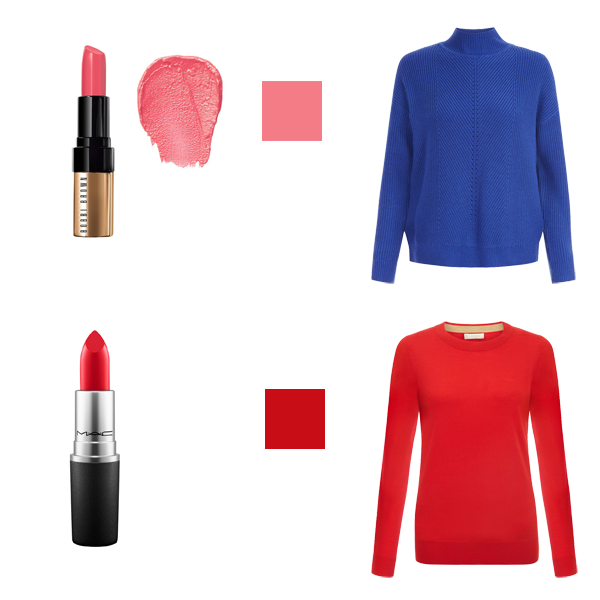 How to Choose Lipstick to Suit Your Colouring - bright Colouring