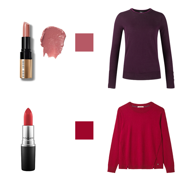 How to Choose Lipstick to Suit Your Colouring - cool Colouring