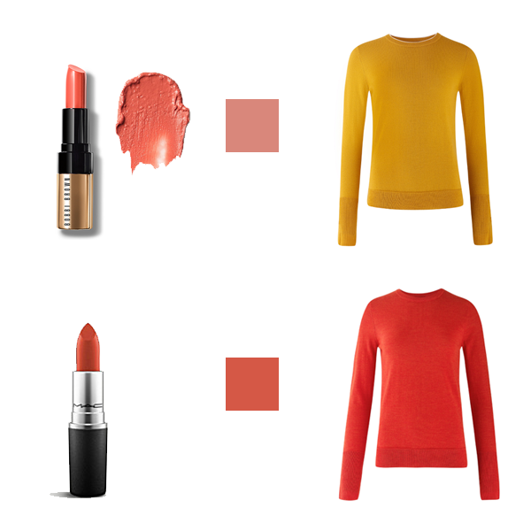 How to Choose Lipstick to Suit Your Colouring -warm Colouring