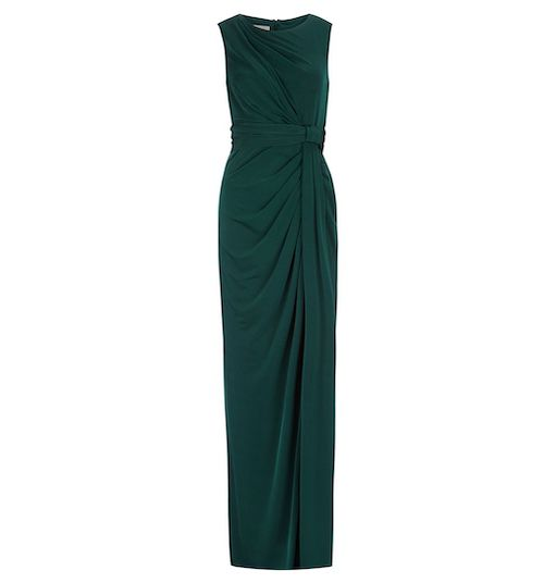best party dresses and jumpsuits, Hobbs green maxi dress