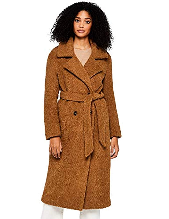 where to buy fashion on a budget, Amazone private label, teddy bear coat