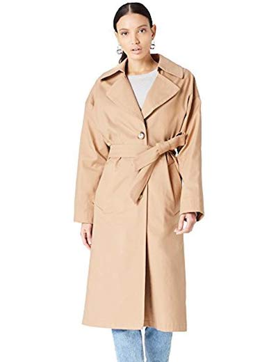 where to buy fashion on a budget, Amazone private label, trench coat