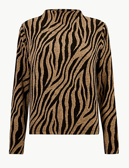 10 new in must buys, Marks and Spencer zebra print sweater