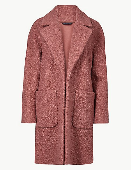 10 new in must buys, Marks and Spencer pink teddy bear coat