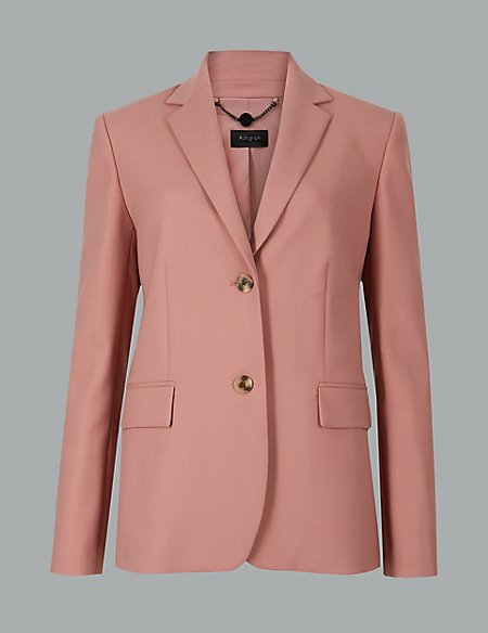 10 new in must buys, Marks and Spencer pink blazer