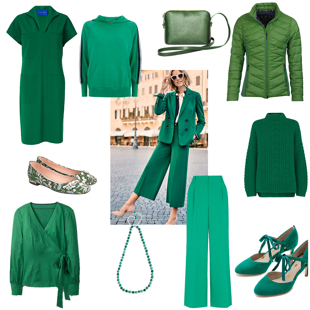 Update Your Wardrobe With Spring Greens
