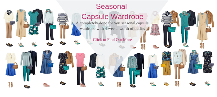 capsule wardrobe services, 4 weeks of outfits