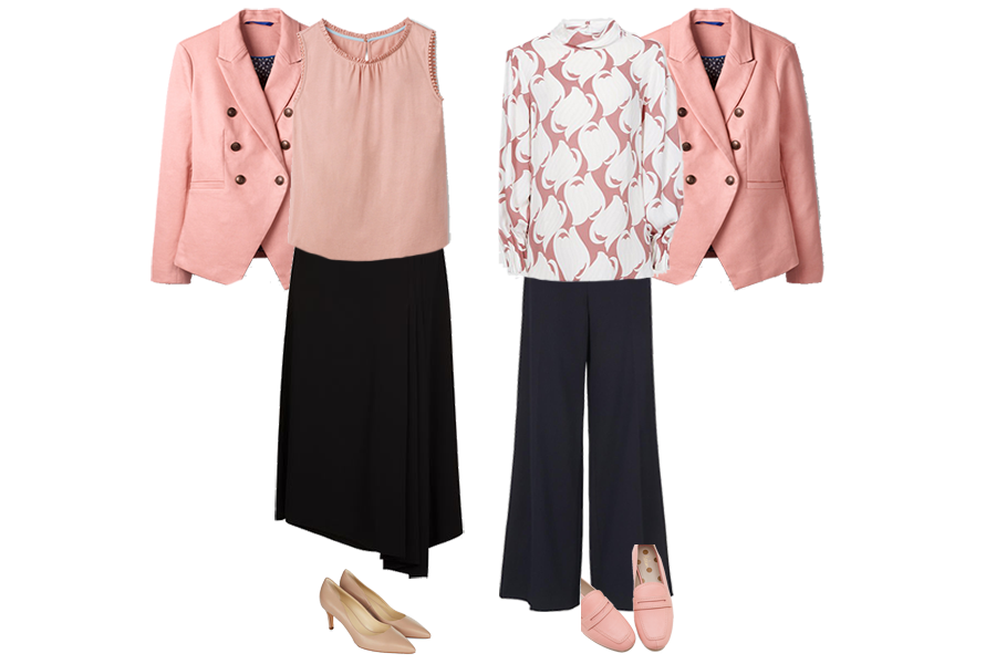 New Ways To Wear Pink For Spring.