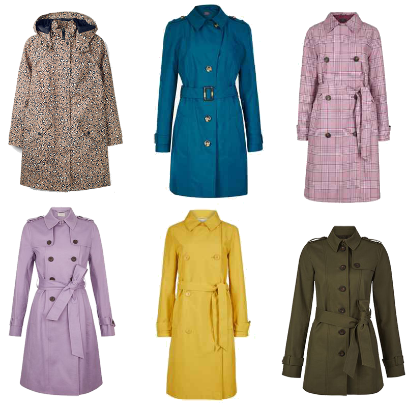 6 Rain and Trench Coats to Brighten Your Day