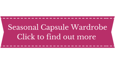 capsule wardrobe services, seasonal capsule wardrobe