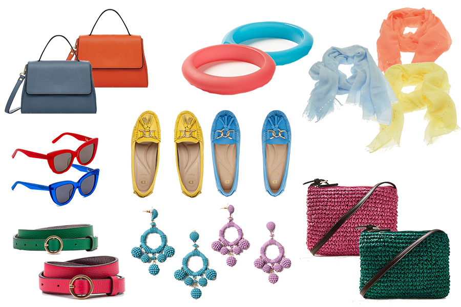 Brighten Your Wardrobe With Spring Accessories