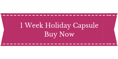 holiday capsule wardrobe service