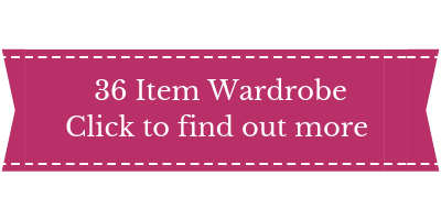 capsule wardrobe services, full 36 item capsule wardrobe