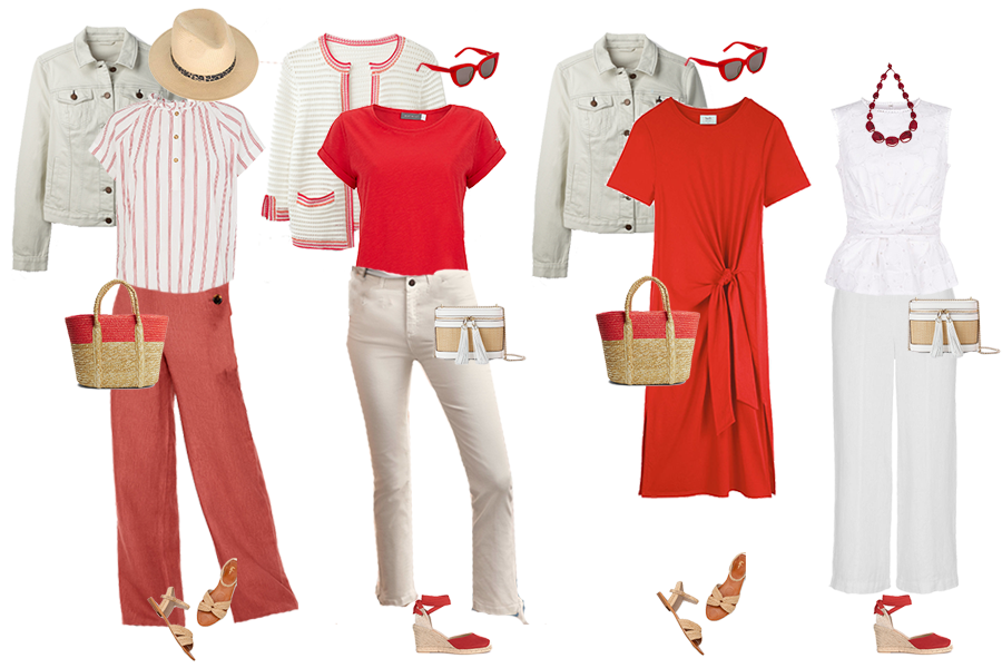 City Break Holiday Capsule Wardrobe outfits