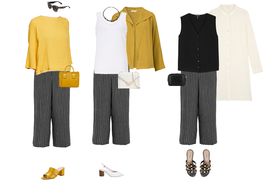How to wear linen, linen trousers styled 3 ways